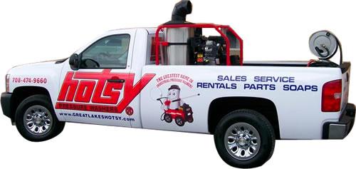 Great Lakes Hotsy Demo Truck